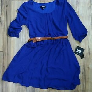Royal Blue by&by Dress